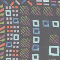 *6 5/8 YD PC--Mosaic Print Silk Chiffon