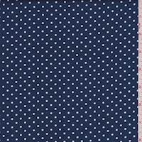 Navy/White Dot Cotton