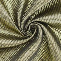 *3 1/2 YD PC--Metallic Gold Vertical Rib