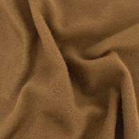 *2 1/8 YD PC--Caramel Brown Wool Brushed Jacketing