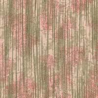 *5 YD PC--Floral/Streaks Silk Crepe de Chine