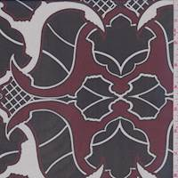 Port Baroque Silk Chiffon