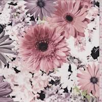 Plum/Pink Daisy Challis