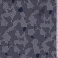 *1 1/8 YD PC--Dark Blue/Beige Butterfly Twill Suiting