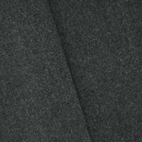 *1 5/8 YD PC--Storm Gray Wool Blend Brushed Jacketing
