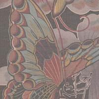 *3 YD PC--Butterfly Silk Chiffon