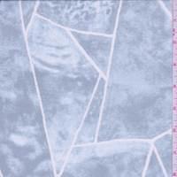 Bluestone Marble Silk Chiffon