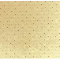 *3 YD PC -- Ivory Beige Diamond Dot Woven Home Decorating Fabric