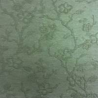 *5 YD PC -- Dark Teal Floral Textured Jacquard Home Decorating Fabric