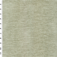 *7 1/2 YD PC - Pewter Gray Chenille Home Decorating Fabric