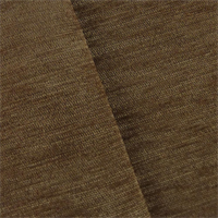 *1 YD PC - Warm Brown Dry Wash Chenille Upholstery Fabric