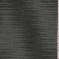 Sage/Smoke Stripe Silk Crepe de Chine