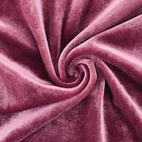*3 3/4 YD PC--Wine Pink Velvet Knit