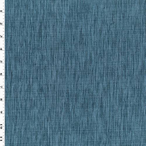 *6 1/2 YD PC - Storm Blue Cotton Texture Home Decorating Fabric