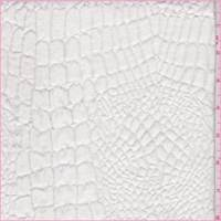 Off White Alligator Matelasse Home Decorating Fabric