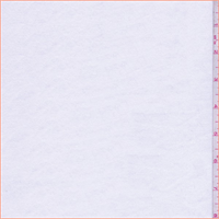 *2 5/8 YD PC--Optic White Jersey Knit