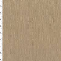 *3 YD PC--Sand Beige Herringbone Twill Home Decorating Fabric