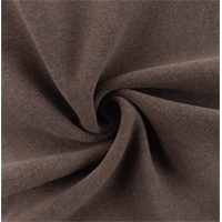 *3/4 YD PC--Wood Brown Wool Blend Brushed Jacketing