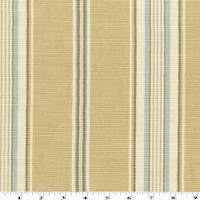 *4 YD PC--Golden Beige/Multi Stripe Rib Home Decorating Fabric