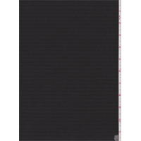 *1 1/2 YD PC--Slate Black Pinstripe Flannel