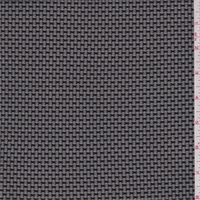 *3 YD PC--Black Pique Stretch Mesh