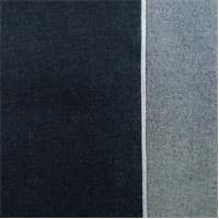 *4 3/4 YD PC--Dark Blue Cotton Japanese Selvedge Denim