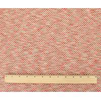 *4 1/4 YD PC--Red/Beige/Multi Textured Netting