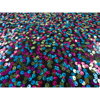 *2 7/8 YD PC--Multicolor Sequin ITY Knit