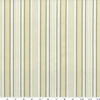 *4 YD PC--Olive Beige Stripe Print Velveteen Performance Fabric