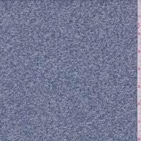 *2 7/8 YD PC--Dusty Blue/White Boucle Twill Jacketing