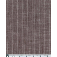 *3/4 YD PC--Brown Slub Texture Pinstripe