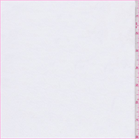 *1 1/4 YD PC--White Polyester Shirting