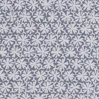 *4 3/4 YD PC--Blue/White Print China Silk