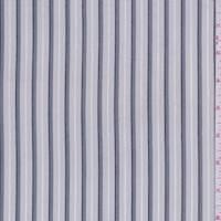 Pearl Grey/Pewter Stripe Shirting