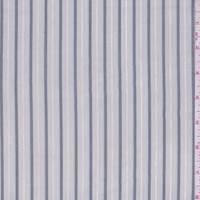 Soft Grey/Pewter Stripe Shirting