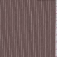 Cinnamon Brown Stripe Suiting