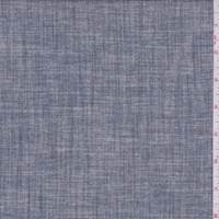 Stormy Navy Cotton Chambray