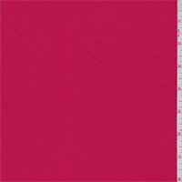 *2 3/4 YD PC--Lipstick Red Boucle Suiting