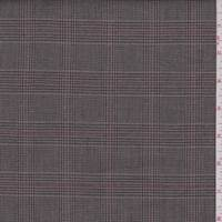 Cocoa Glen Plaid Cotton Suiting