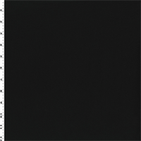 *4 YD PC--Black Wool Blend Gabardine