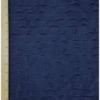 *3 YD PC--Navy Blue Ruffle Knit
