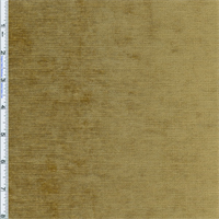 *1 1/8 YD PC--Brass Beige Designer Palermo Velvet Chenille Home Decorating Fabric