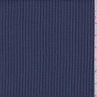 *1 1/2 YD PC--Blue/Navy Stripe Seersucker