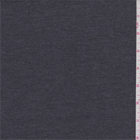 *3 1/4 YD PC--Dark Taupe Grey Poly Rayon Jersey Knit