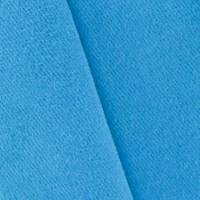 *1 3/8 YD PC--Bright Aqua Blue Wool Blend Brushed Twill Jacketing