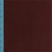*1 YD PC--Designer Maroon Red Regal Cotton Velveteen Home Decorating Fabric