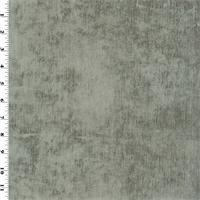 *2 YD PC--Designer Silver Gray Dreamcatcher Chenille Home Decorating Fabric