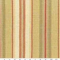 Olive/Beige/Multi Stripe Print Linen Decorating Fabric