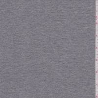 *1 1/2 YD PC--Heather Sterling Grey Double Knit