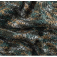 *6 YD PC--Spruce/Multi Brushed Sweater Knit